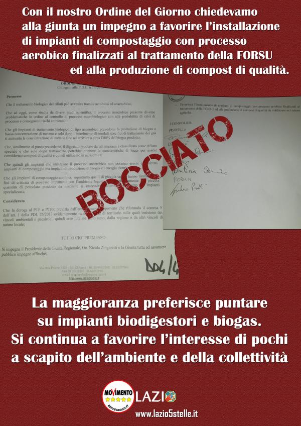 Ecco come in Regione Lazio si continua a favorire l'interesse di pochi a scapito dell'ambiente e della collettività