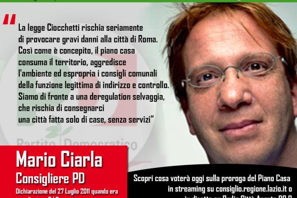 Mario Ciarla (PD)