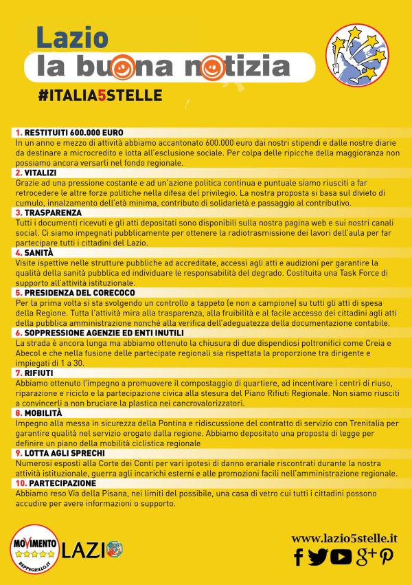 #Italia5Stelle – Tutti i nostri materiali!