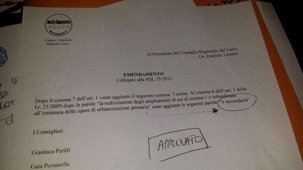 La distrazione della maggioranza benefica per il Lazio