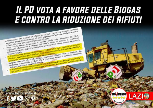 Ambiente, Porrello: il PD vota a favore del Biogas e contro la riduzione dei rifiuti