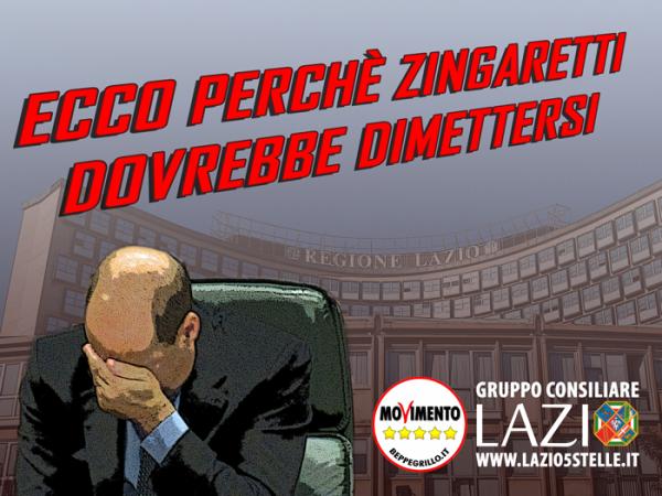 Ecco perchè Zingaretti dovrebbe dimettersi