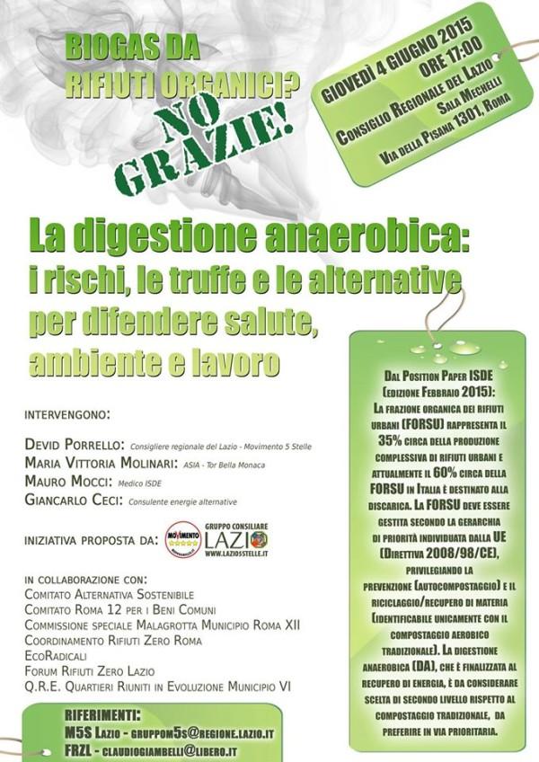 La digestione anaerobica: i rischi, le truffe e le alternative per difendere salute, ambiente e lavoro