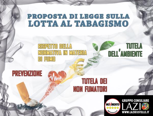 Porrello: depositata proposta di legge su lotta la tabagismo