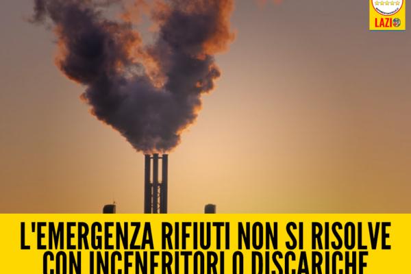 l'emergenza rifiuti non si risolve con inceneritori o discariche