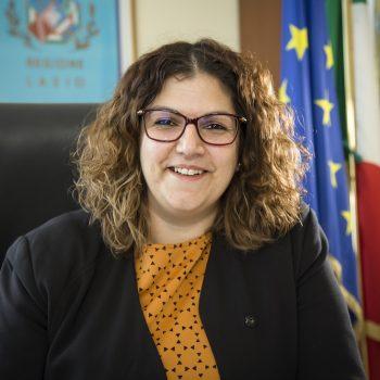 Valentina Corrado - Cittadina Portavoce in Regione Lazio